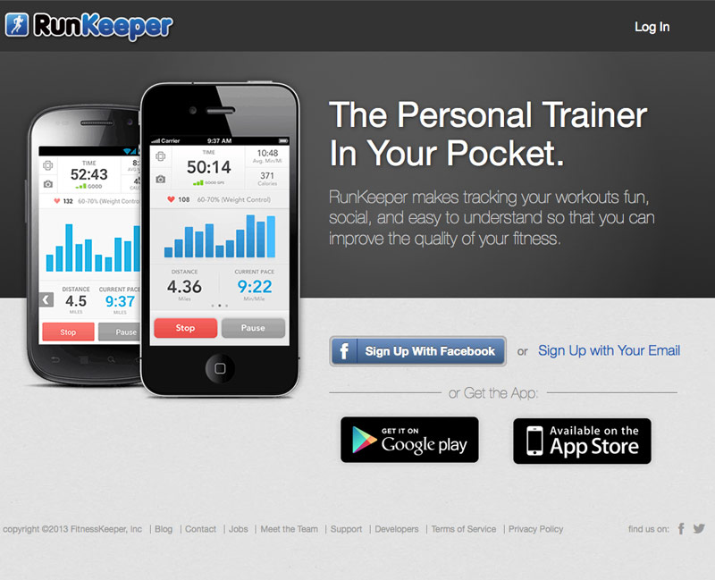 Runkeeper - app gratuita gps per ciclismo