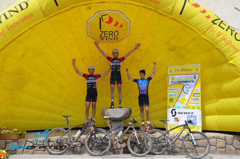 Il podio della Spaccapria 2013