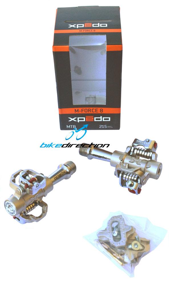 La confezione dei nuovi pedali Xpedo MTB M-Force