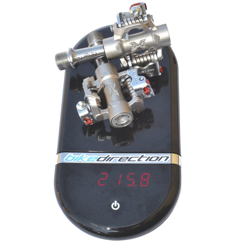 Il peso effettivo dei pedali a sgancio rapido