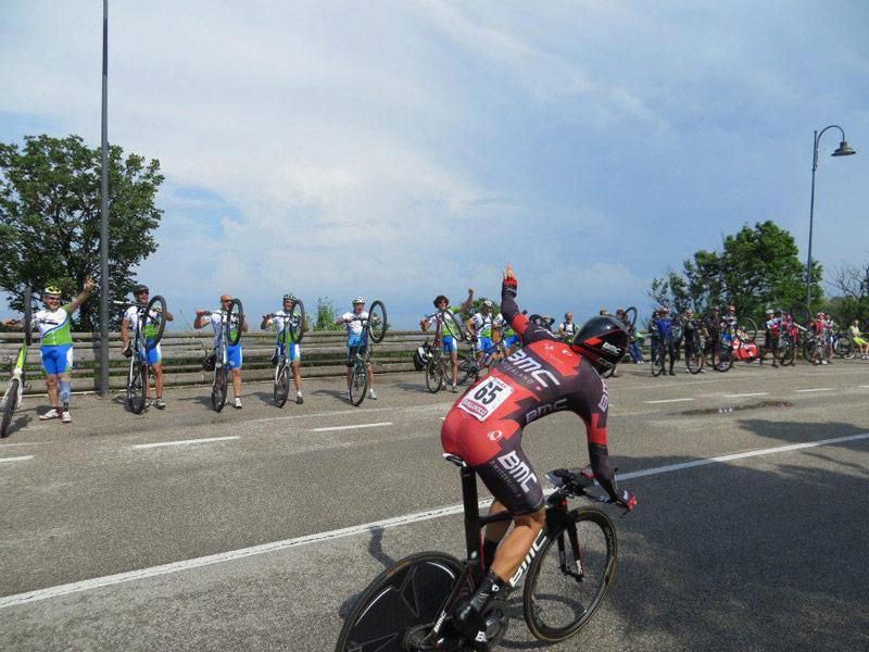 Steve Morabito al Giro d'Italia