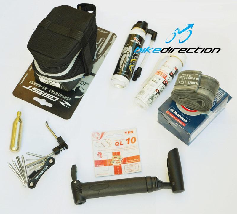 I prodotti per l'escursione in MTB