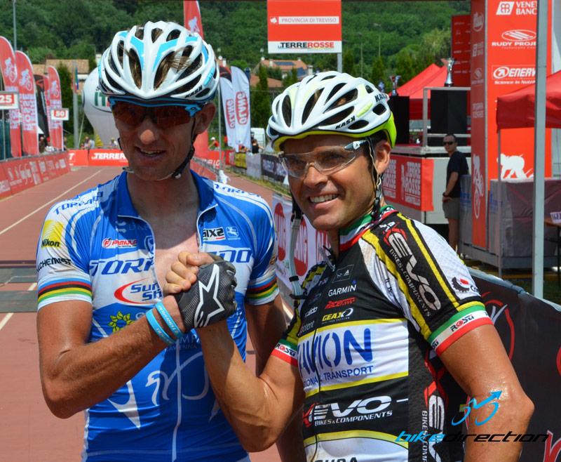 Paulissen e Celestino, campioni MTB