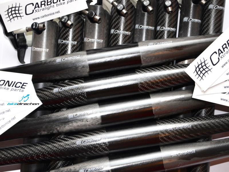 Arrivati i manubri e prodotti Carbonice per la MTB