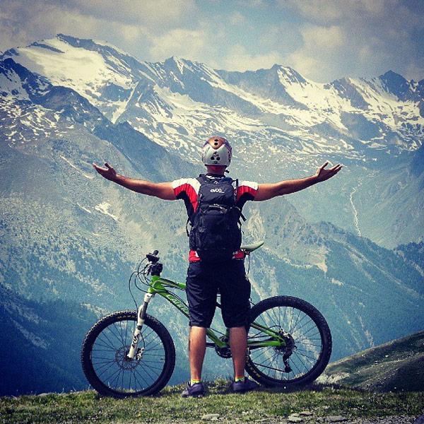 mtb e social network in Val D'Aosta