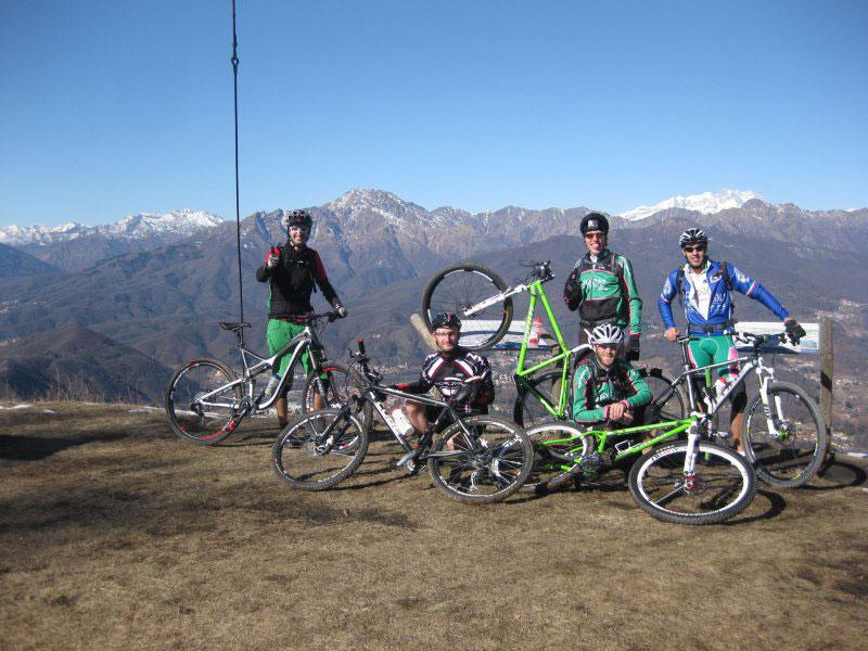 Escursioni in montagna per il gruppo Wildpigs