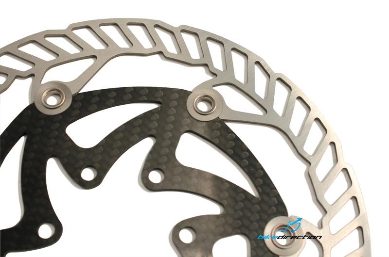 Freni a disco per MTB X-Rotor di Carbon-Ti