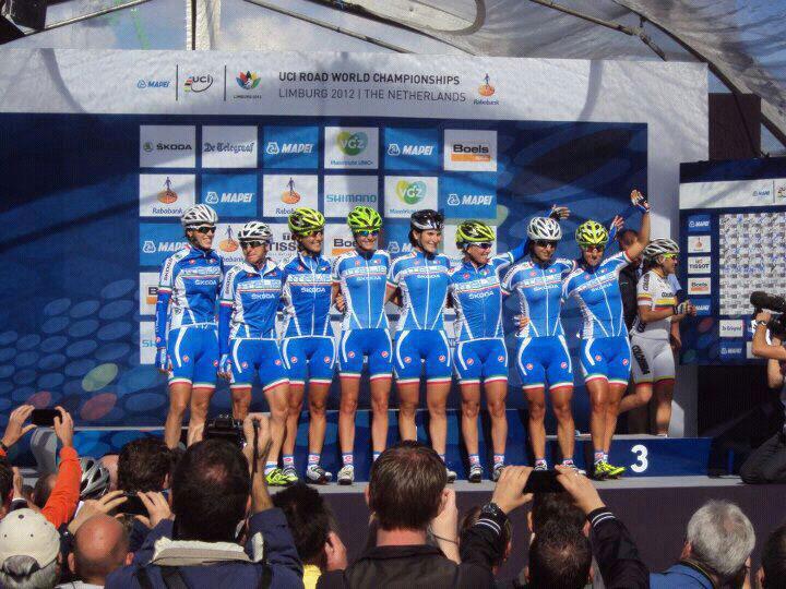 Ciclismo femminile - nazionale italiana