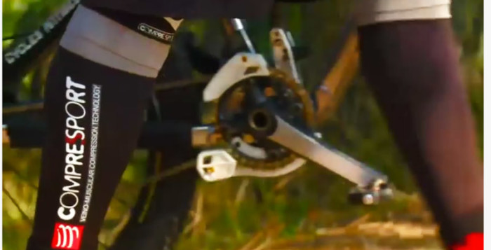 I gambali compressport per biker