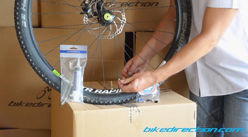 Valvole tubeless smontabili per la mountain bike