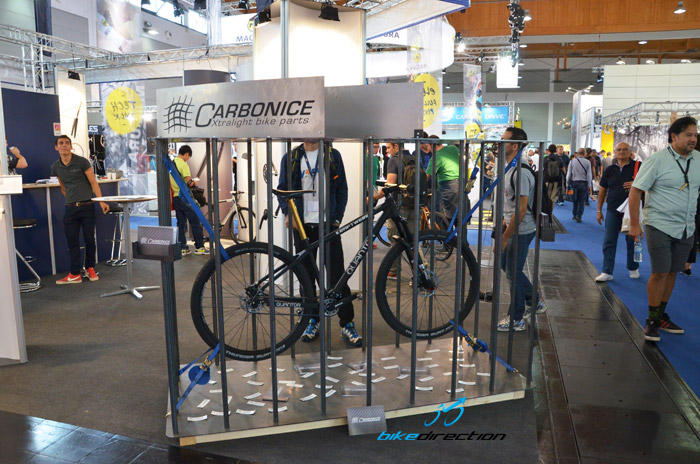 Lo stand Carbonice ad Eurobike