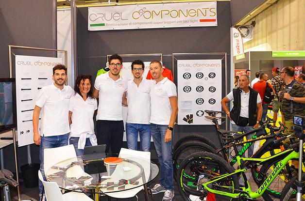Cruel Components e Bike Direction a CosmoBike 2016